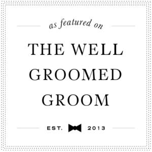 Wellgroomedgroom-weddingbadge